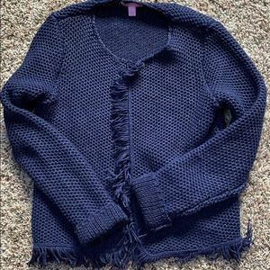 NWOT Lilly Pulitzer luanna sweater small navy